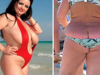 07b2d0b2 14 DIGGE damer med sommeren mest SEXY bikinier !